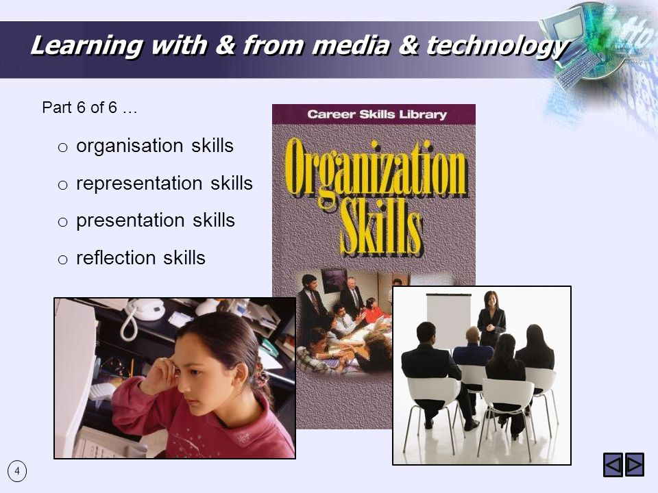Learning with & from media & technology