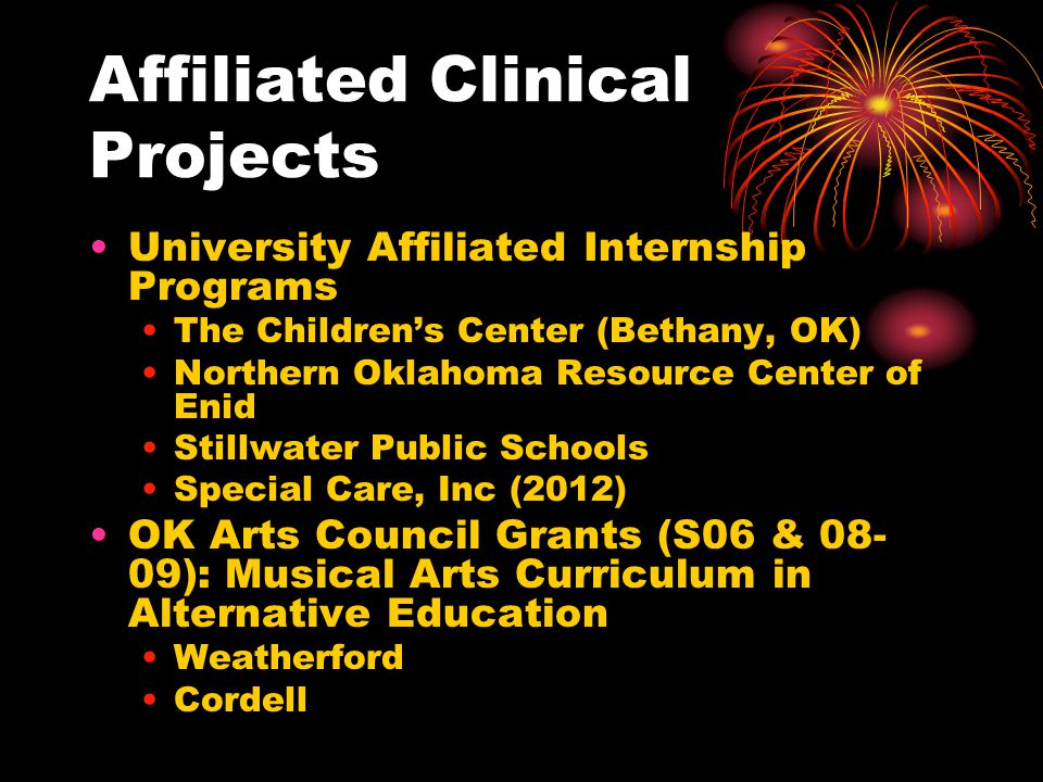 Affiliated Clinical Projects