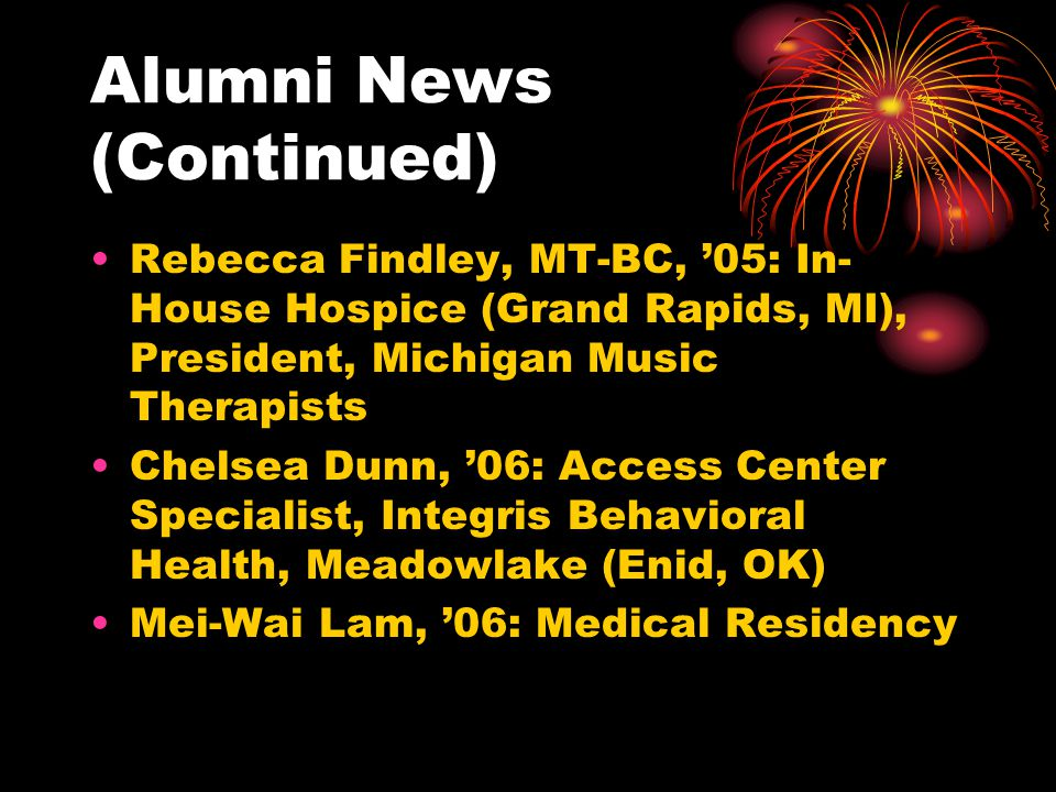 Alumni News (Continued)