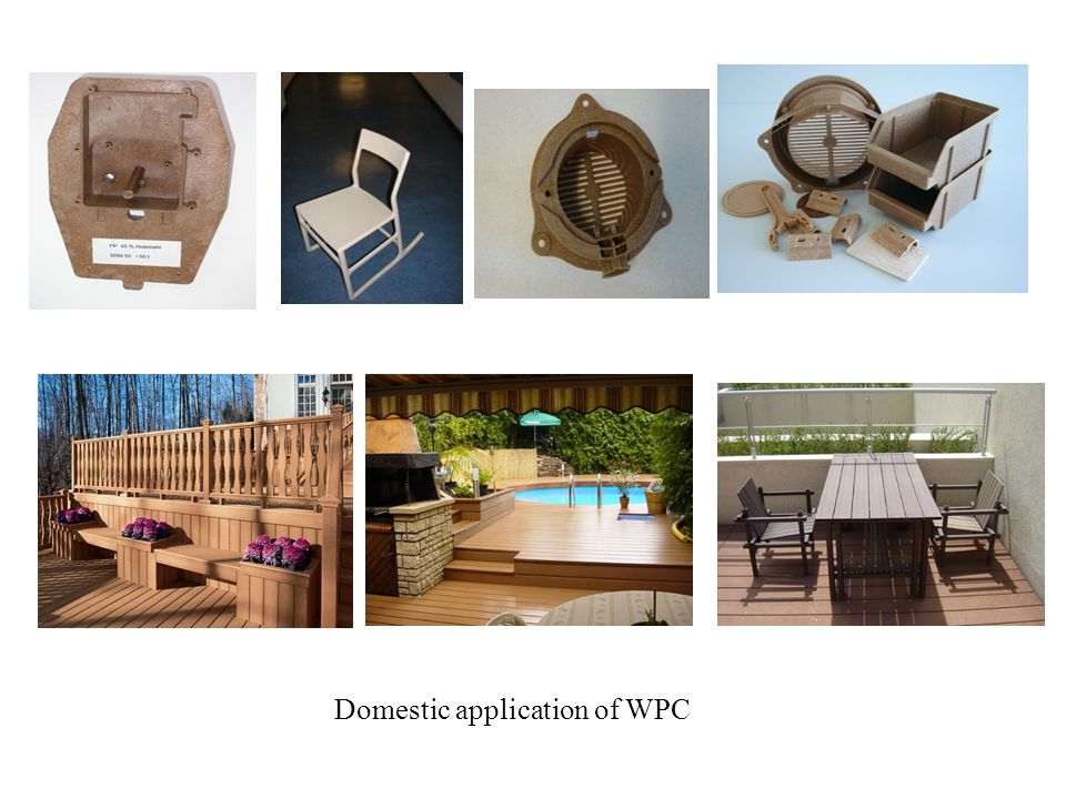 Domestic application of WPC