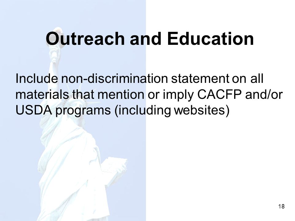 Outreach and Education