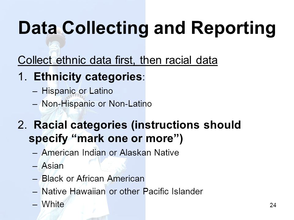 Data Collecting and Reporting