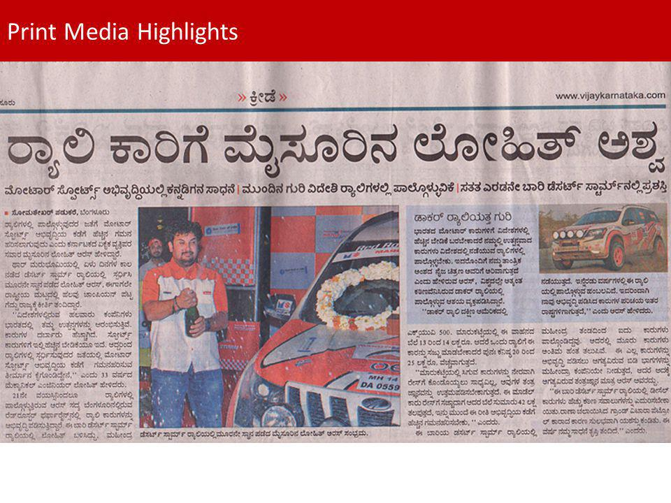 Print Media Highlights