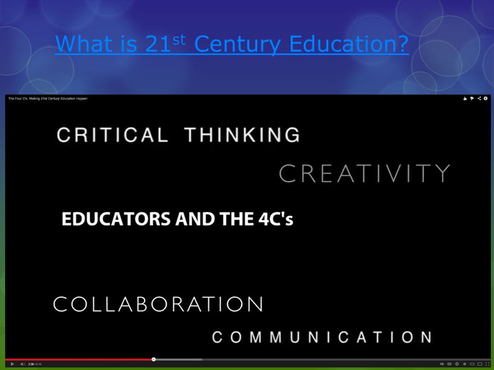 What is 21st Century Education