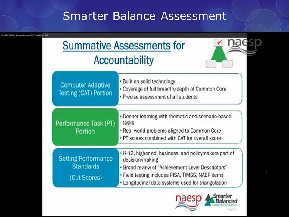 Smarter Balance Assessment