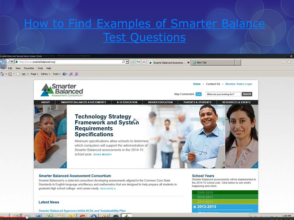 How to Find Examples of Smarter Balance Test Questions