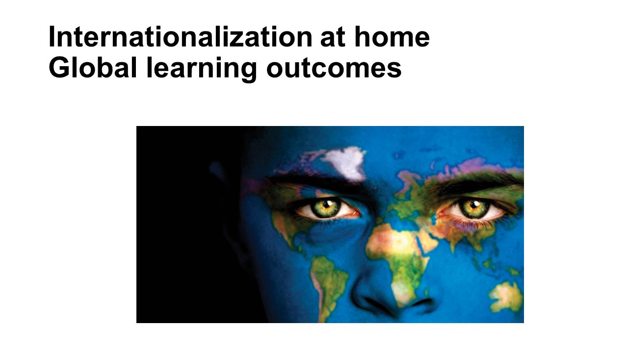 Internationalization at home Global learning outcomes