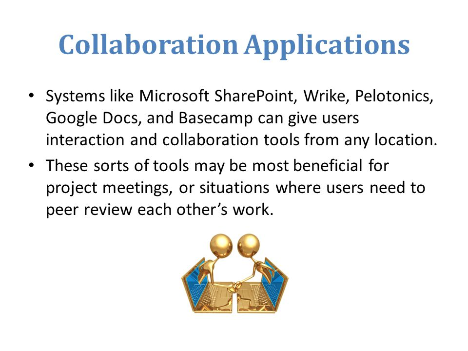 Collaboration Applications