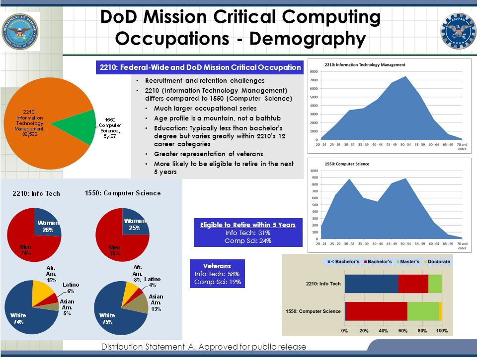 DoD Mission Critical Computing Occupations - Demography