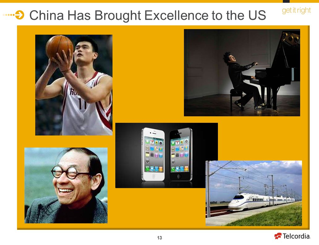 China Has Brought Excellence to the US