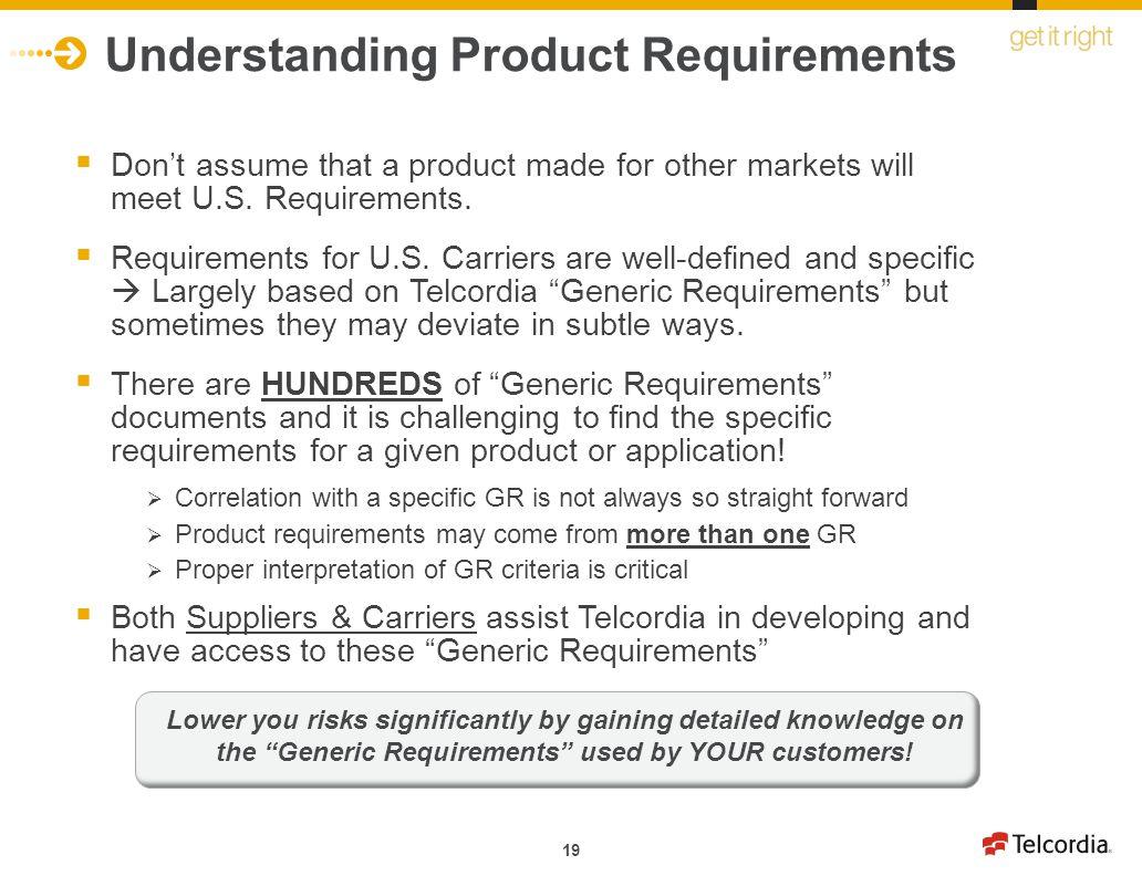 Understanding Product Requirements