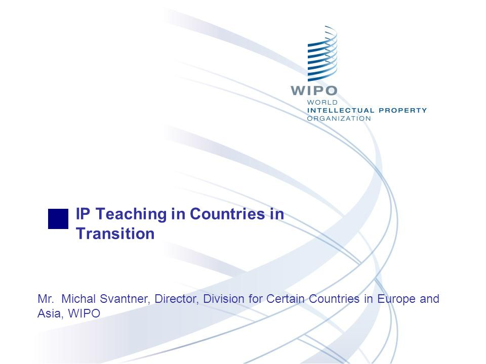 IP Teaching in Countries in Transition