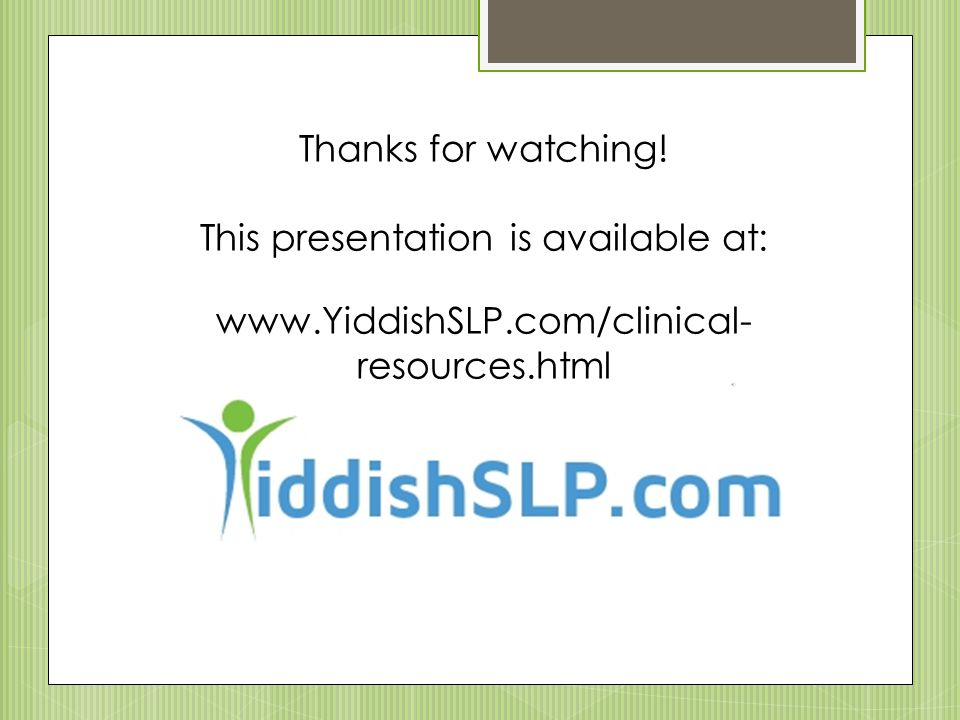 This presentation is available at: