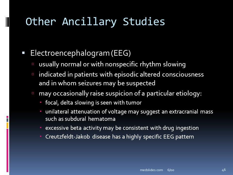 Other Ancillary Studies
