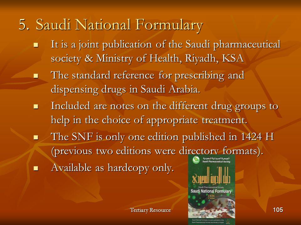 Saudi National Formulary