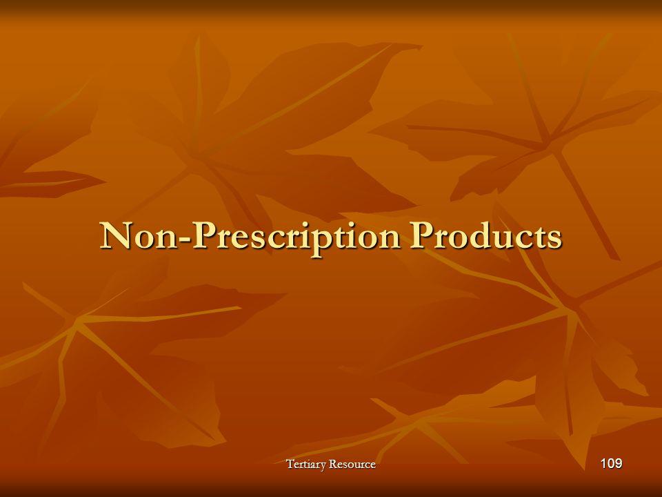 Non-Prescription Products