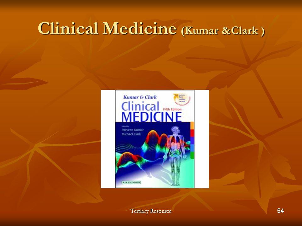Clinical Medicine (Kumar &Clark )