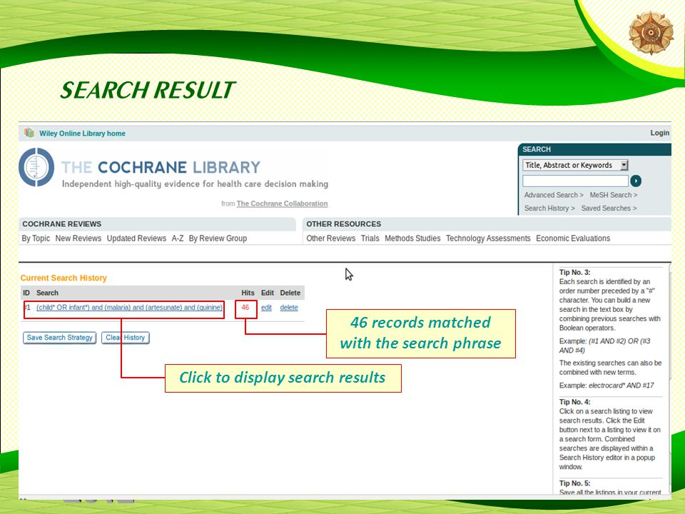 SEARCH RESULT 46 records matched with the search phrase