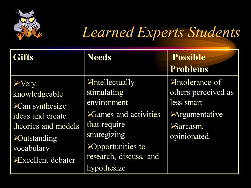 Learned Experts Students
