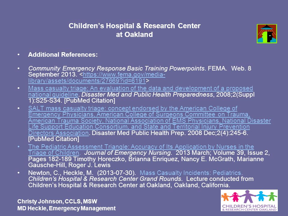 Children's Hospital & Research Center at Oakland