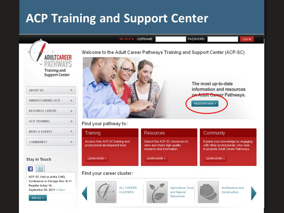ACP Training and Support Center