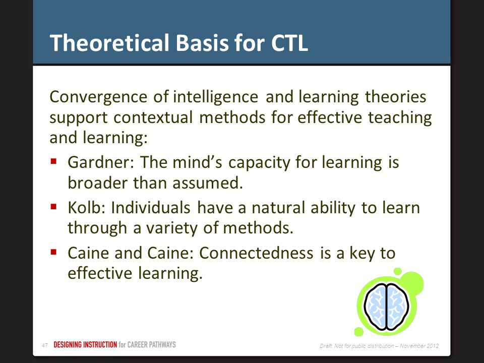 Theoretical Basis for CTL