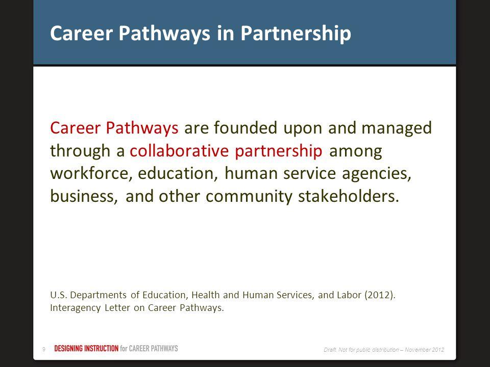 Career Pathways in Partnership