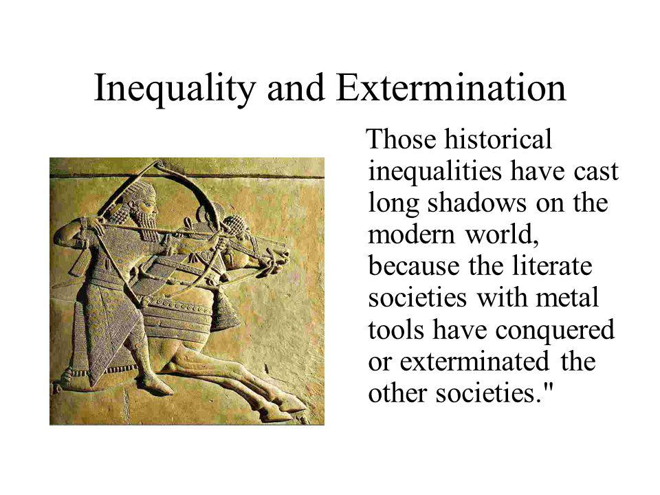 Inequality and Extermination