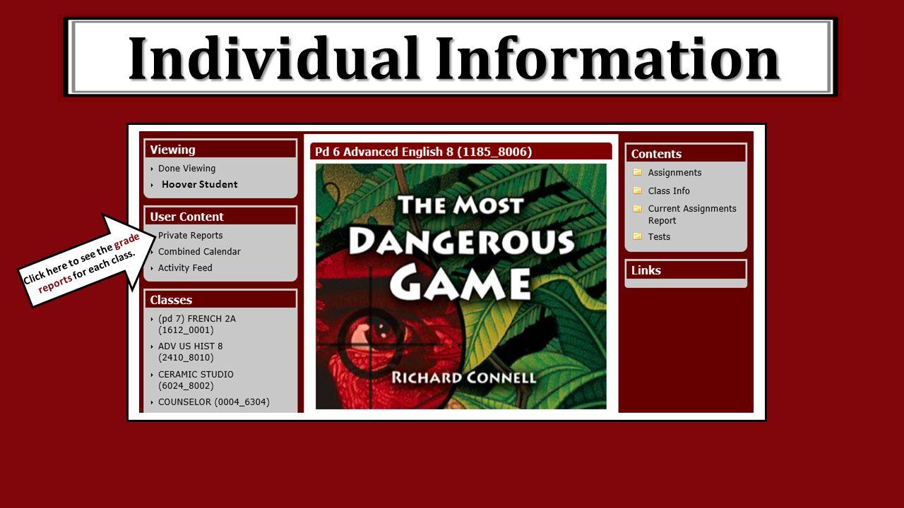 Individual Information