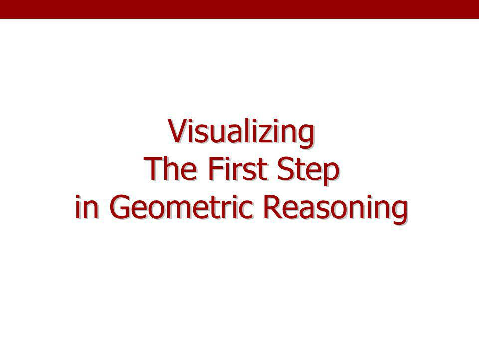 in Geometric Reasoning