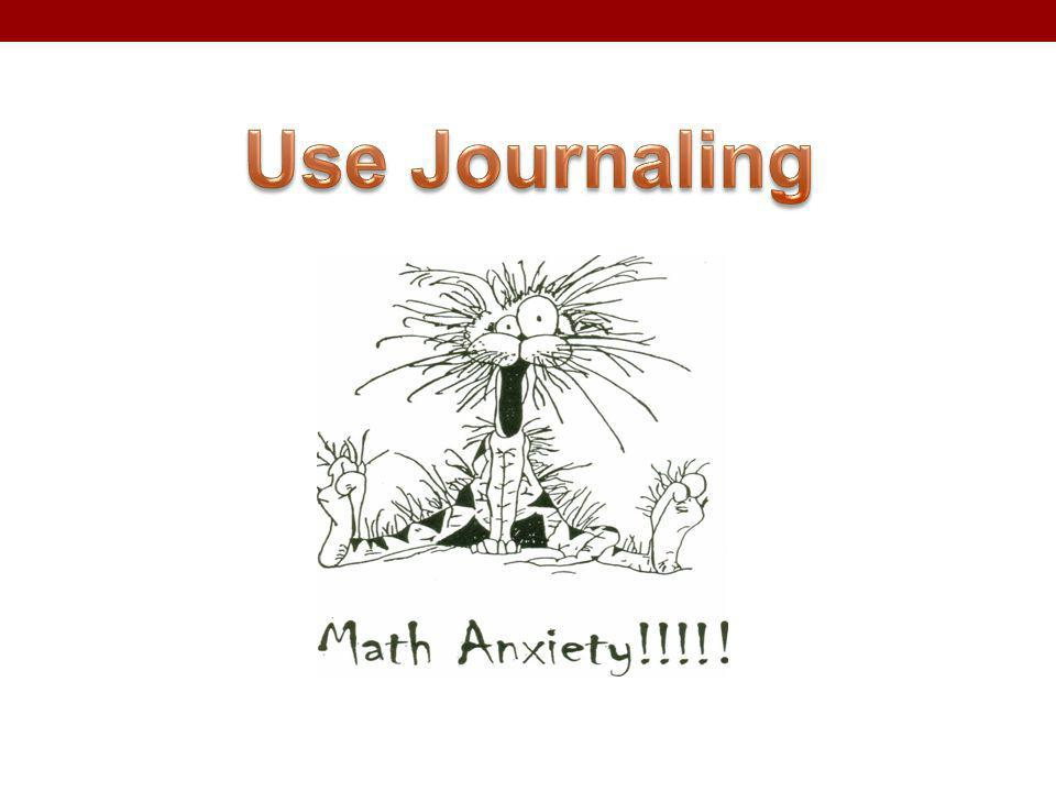 Use Journaling