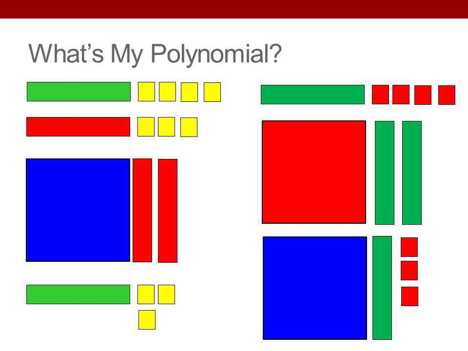 What's My Polynomial