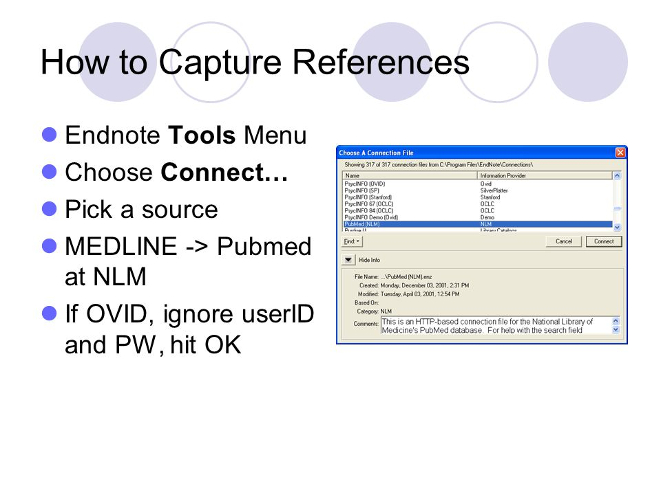 How to Capture References