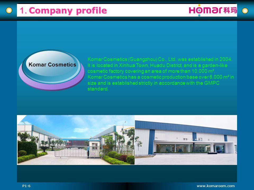 1. Company profile Komar Cosmetics