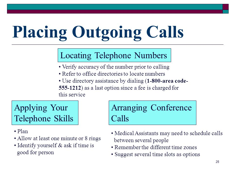 Placing Outgoing Calls