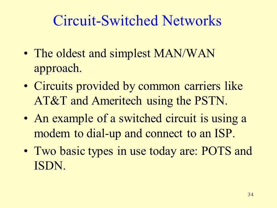 Circuit-Switched Networks