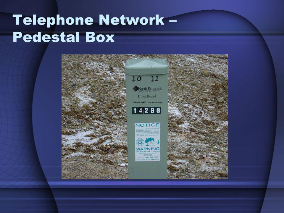 Telephone Network – Pedestal Box