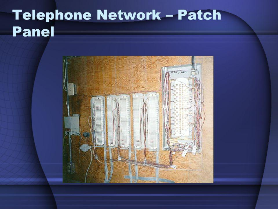 Telephone Network – Patch Panel