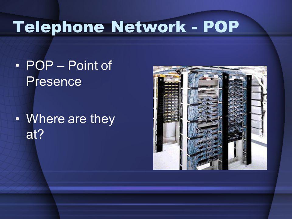 Telephone Network - POP
