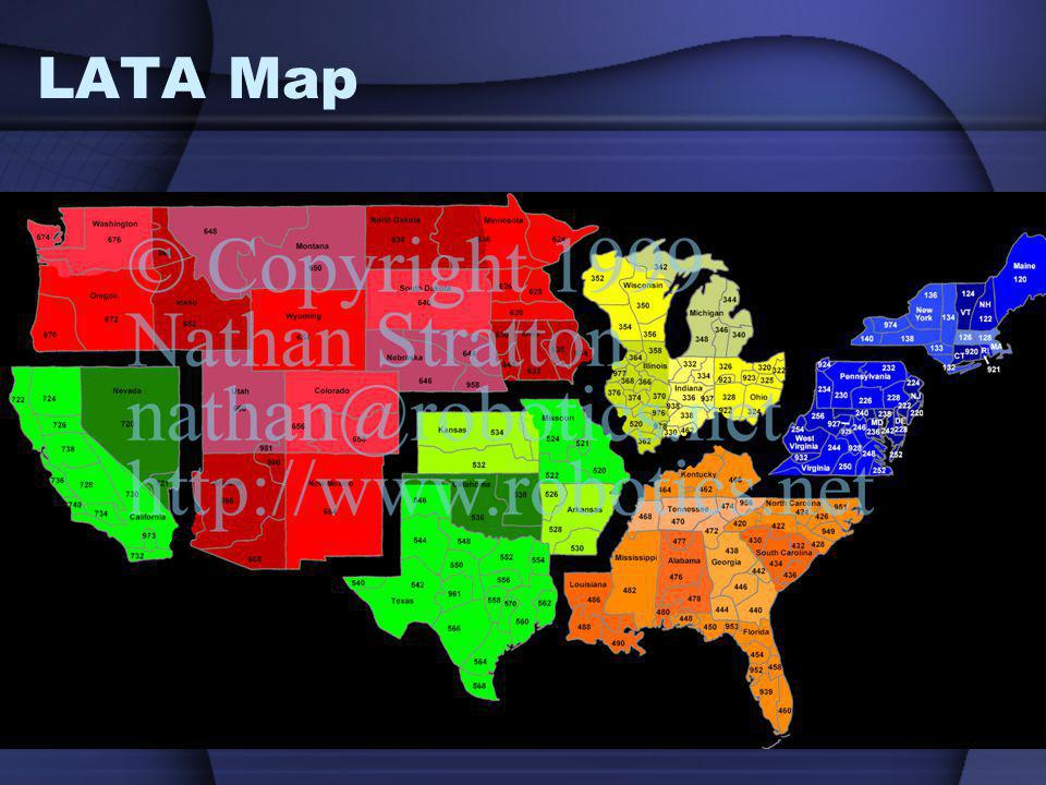 Telephone Network Hierarchy Analog Sounds Ppt Video Online Download - Houston lata map