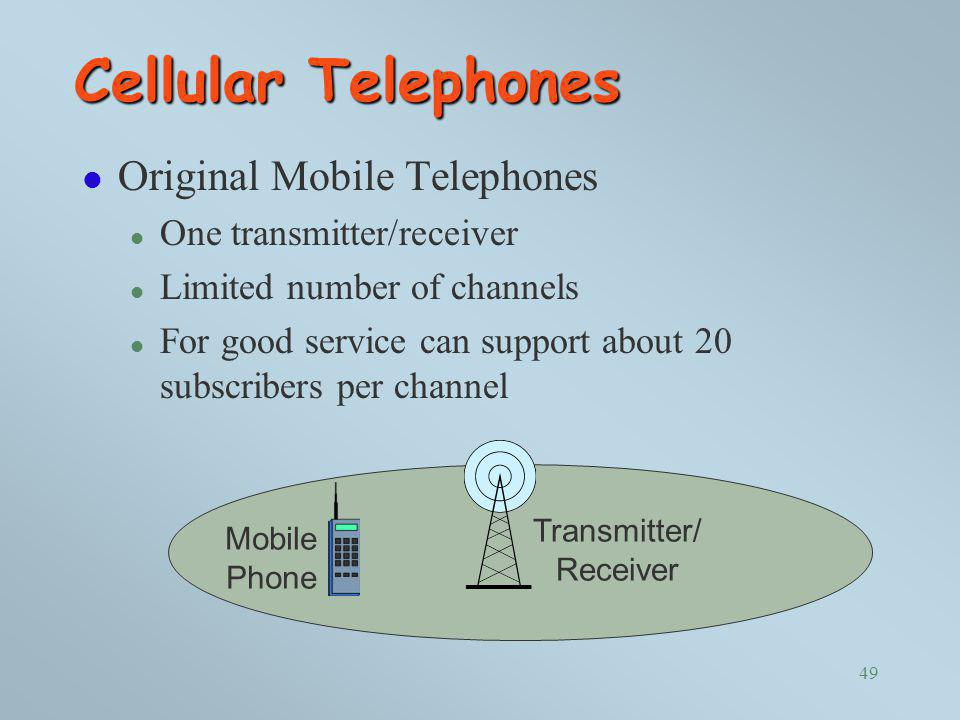 Cellular Telephones Original Mobile Telephones