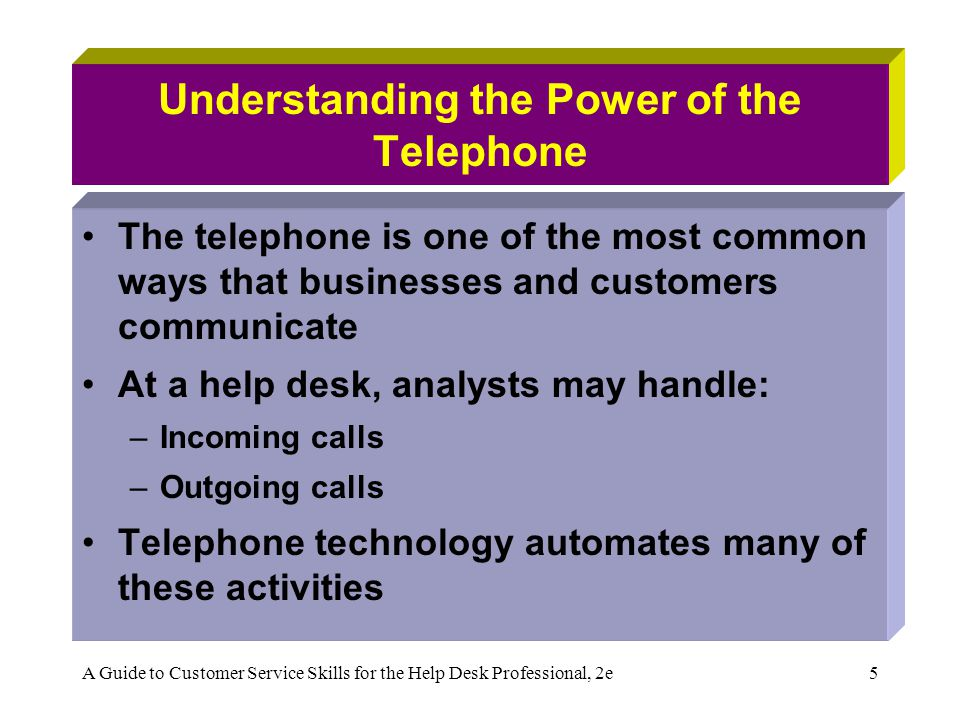 Understanding the Power of the Telephone