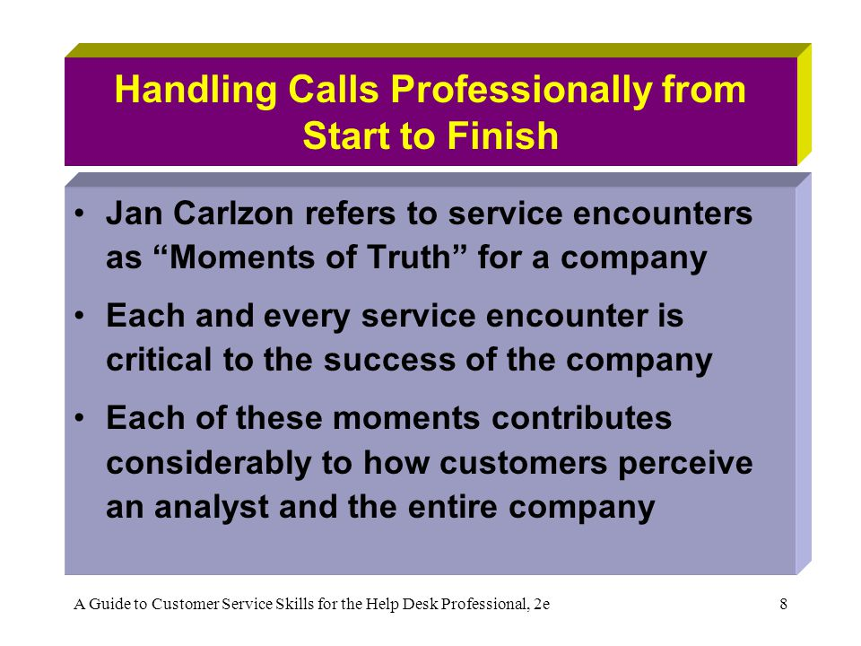 Handling Calls Professionally from Start to Finish