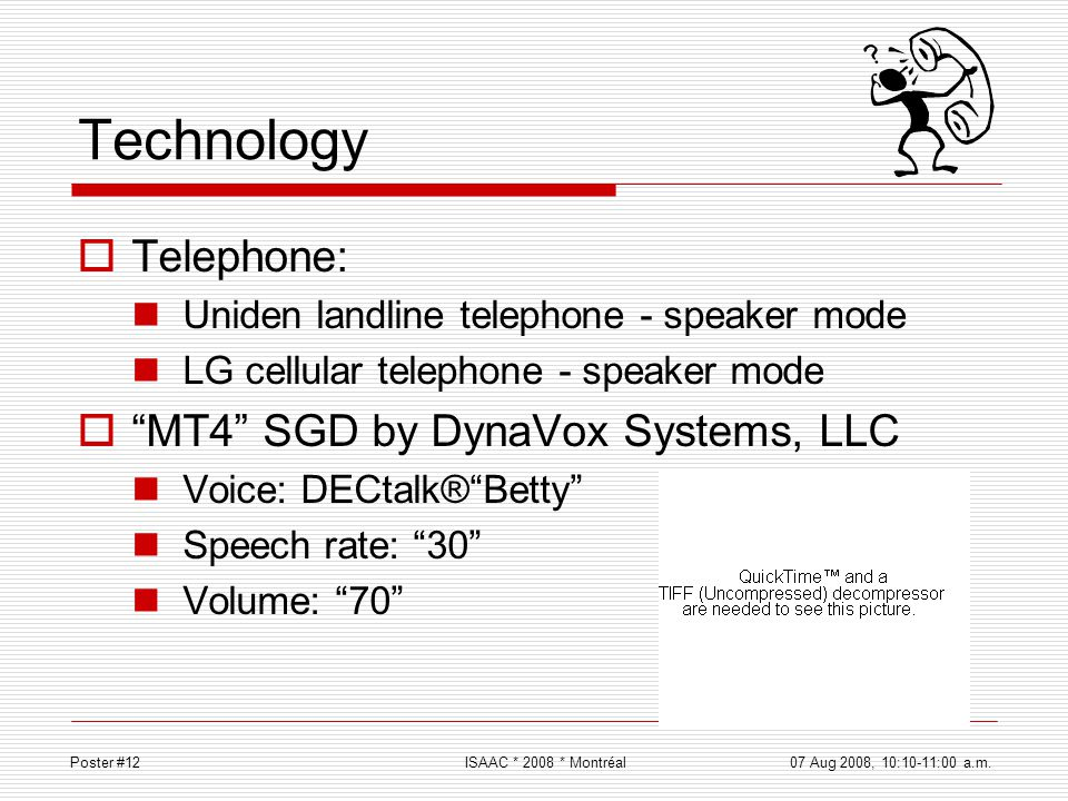 Technology Telephone: MT4 SGD by DynaVox Systems, LLC