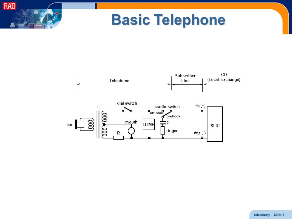 Basic Telephone Subscriber Line CO (Local Exchange) Telephone