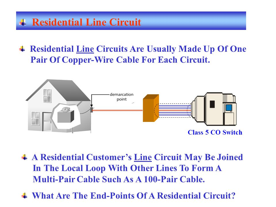Residential Line Circuit