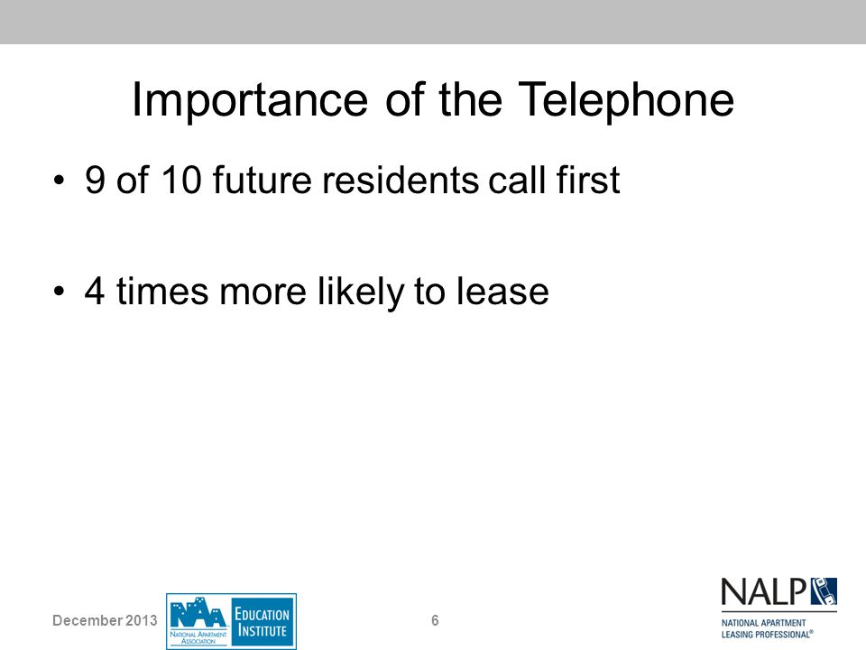 Importance of the Telephone