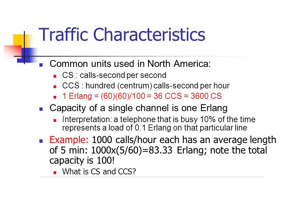 Traffic Characteristics