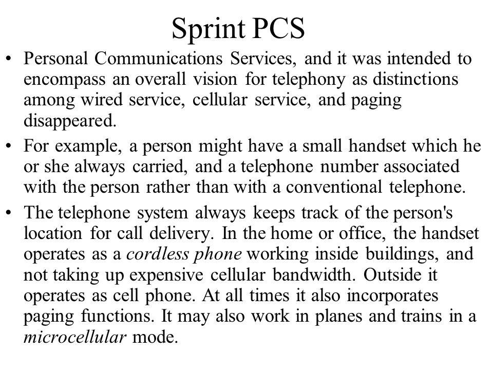 Sprint PCS