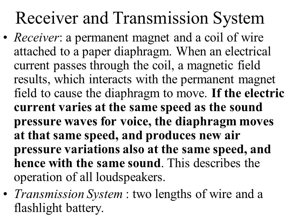 Receiver and Transmission System
